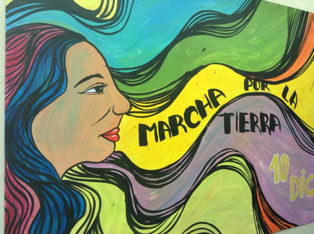 #yomarcho10D tod@s en las calles! Come out of #cop20 for the day http://t.co/njxiyTB6m5