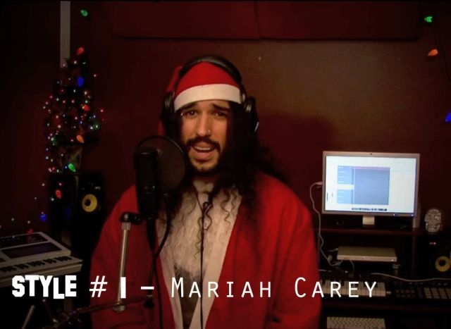 "Anthony Vincent di ""Ten Second Songs"" canta ""All I Want For Christmas Is You"" di Mariah Carey in 20 versioni."
