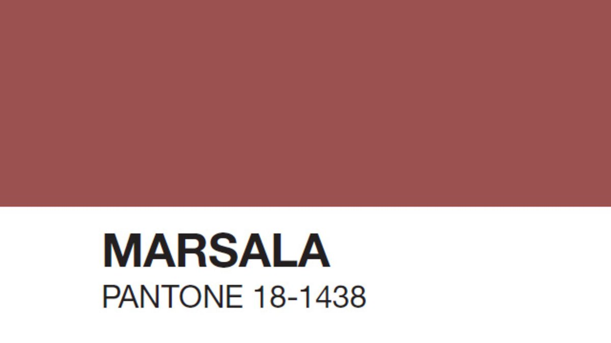 Pantone's Marsala making you hungry? Here's how to eat the Color of the Year