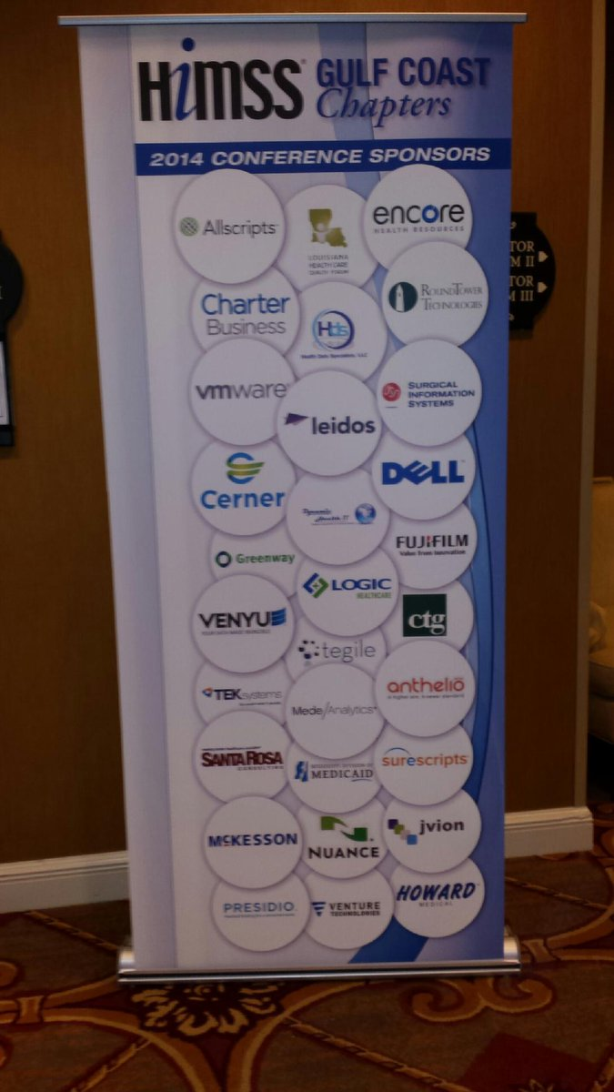 And we're on the board! #GC3HIMSS http://t.co/lDgvtlGtiM