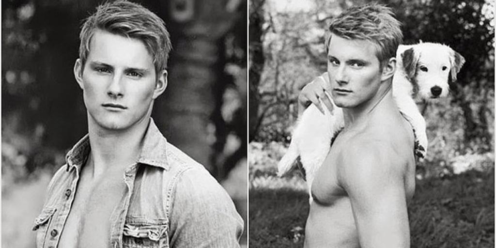 What do you like more: @alexanderludwig's abs or his puppy? OK his abs. http://t.co/zsmq43dT3J http://t.co/kN4b3OgL3L