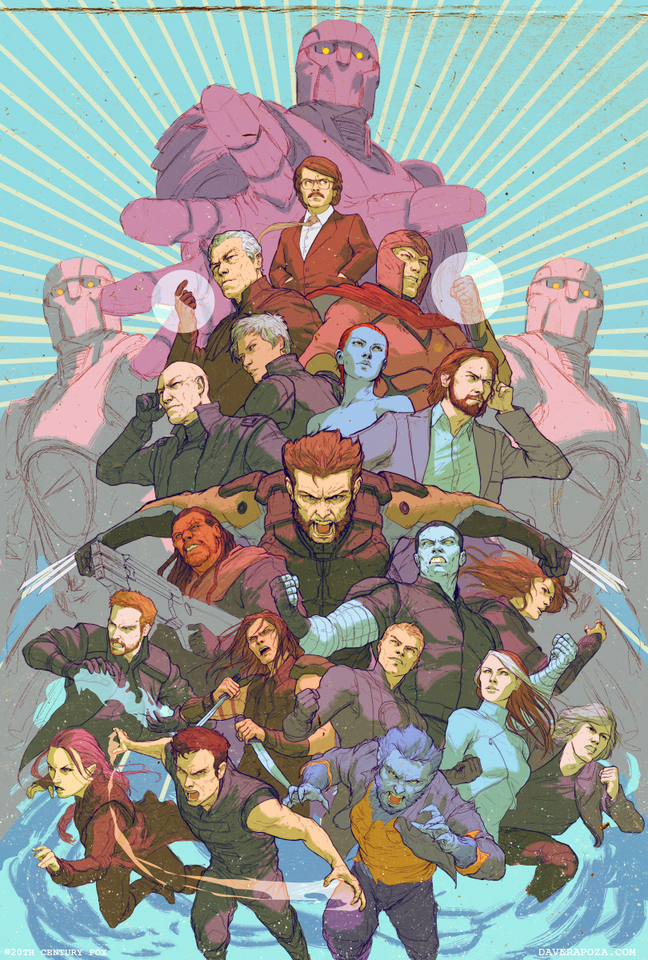 From Avengers to X-Men, @daverapoza's portfolio is full to the brim with comic art goodness. http://t.co/BEk21UQcea http://t.co/9lRRW5eJxr