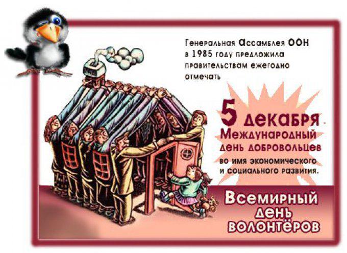Картинки ко дню волонтера 5 декабря, приколом новогодние