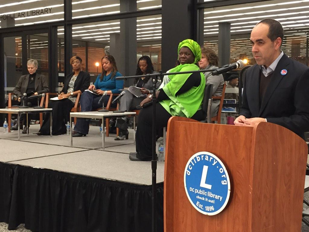 Warm welcome from Richard Reyes-Gavilan ED of @dcpl @DCImmersion http://t.co/YWj89OoLPv