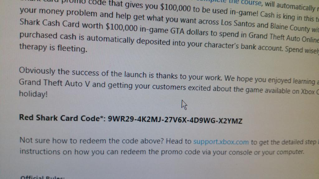 gta v download code