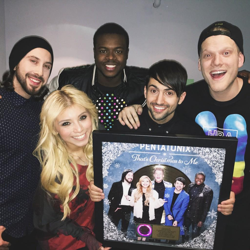 Pentatonix Thats Christmas To Me.Pentatonix On Twitter We Have A Gold Record Seriously