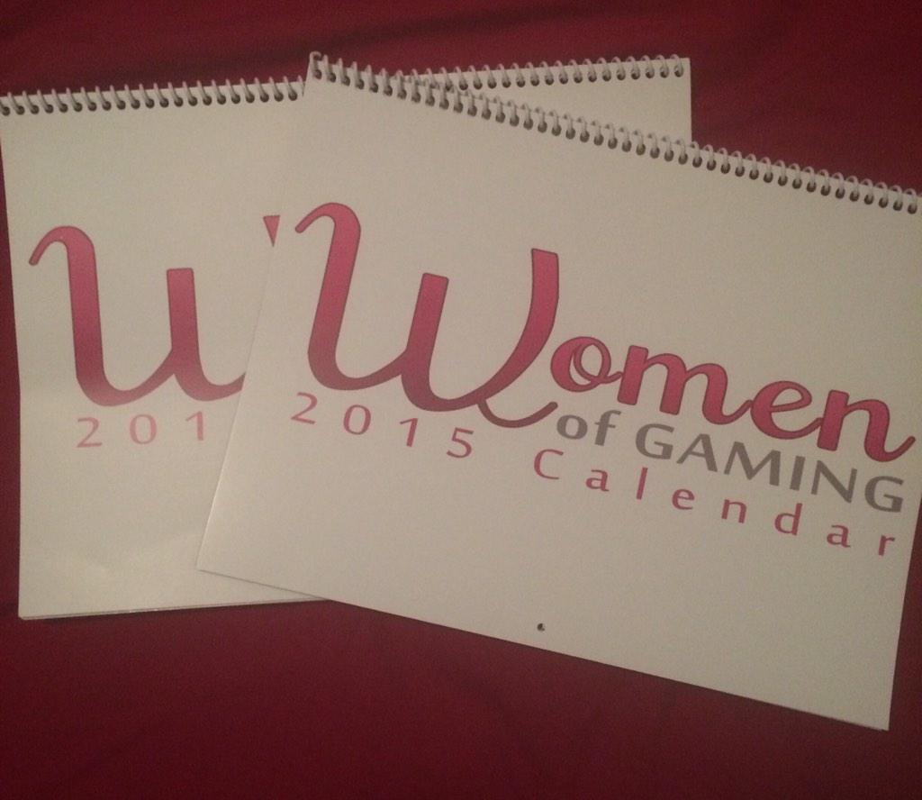 Christmas giveaway!! Giving away 2 Women of Gaming calendars!! Follow & RT! 2 winners will be chosen 12/7 http://t.co/Jo8CBcIml9