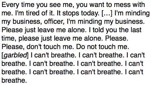 #EricGarner If this doesn't make you sick with sadness, don't become a police officer. http://t.co/umgMhBJJ3a