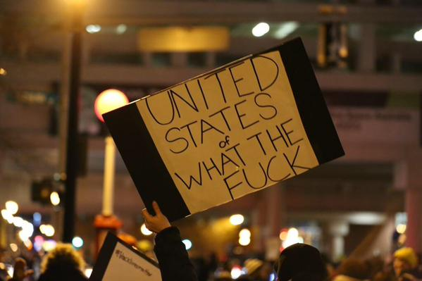 This sign says it all. What is going on?! #Ferguson #ICantBreathe http://t.co/UsmPuE7e42