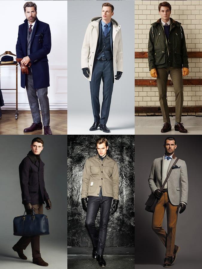 перчатки кожаные мужские зимние на меху где выбрать в спб
