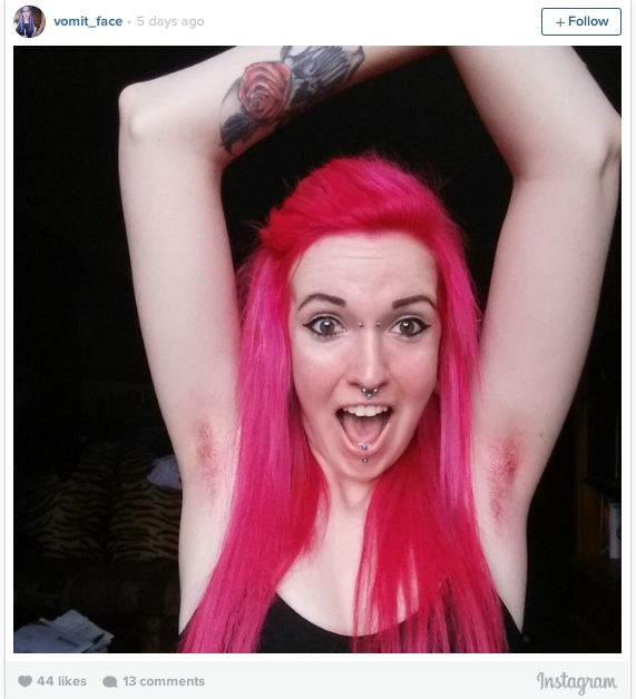 Buzzfeed Uk On Twitter Women Are Dyeing Their Armpit Hair Tons Of