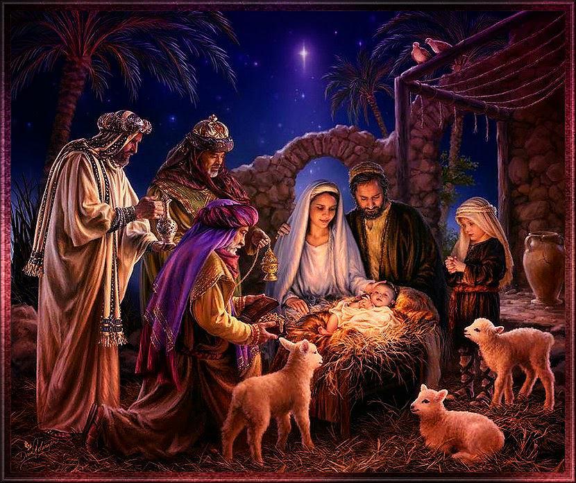 Santons et crèches de Noël  B4FHET5CMAA-iCh