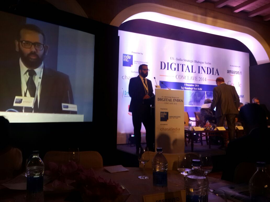 At the first of a series of #DigitalIndia conclaves co-hosted by @chase_india @ficci_india @indiaincorp http://t.co/6Z1z3fYwc6