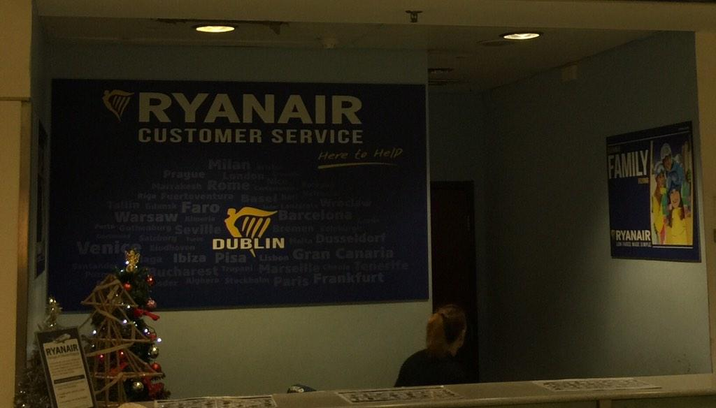 "But…I mean…surely the first time that the words ""Ryan Air"" were conjoined with ""Customer Service""? An error perhaps? http://t.co/nTS75WKiyn"