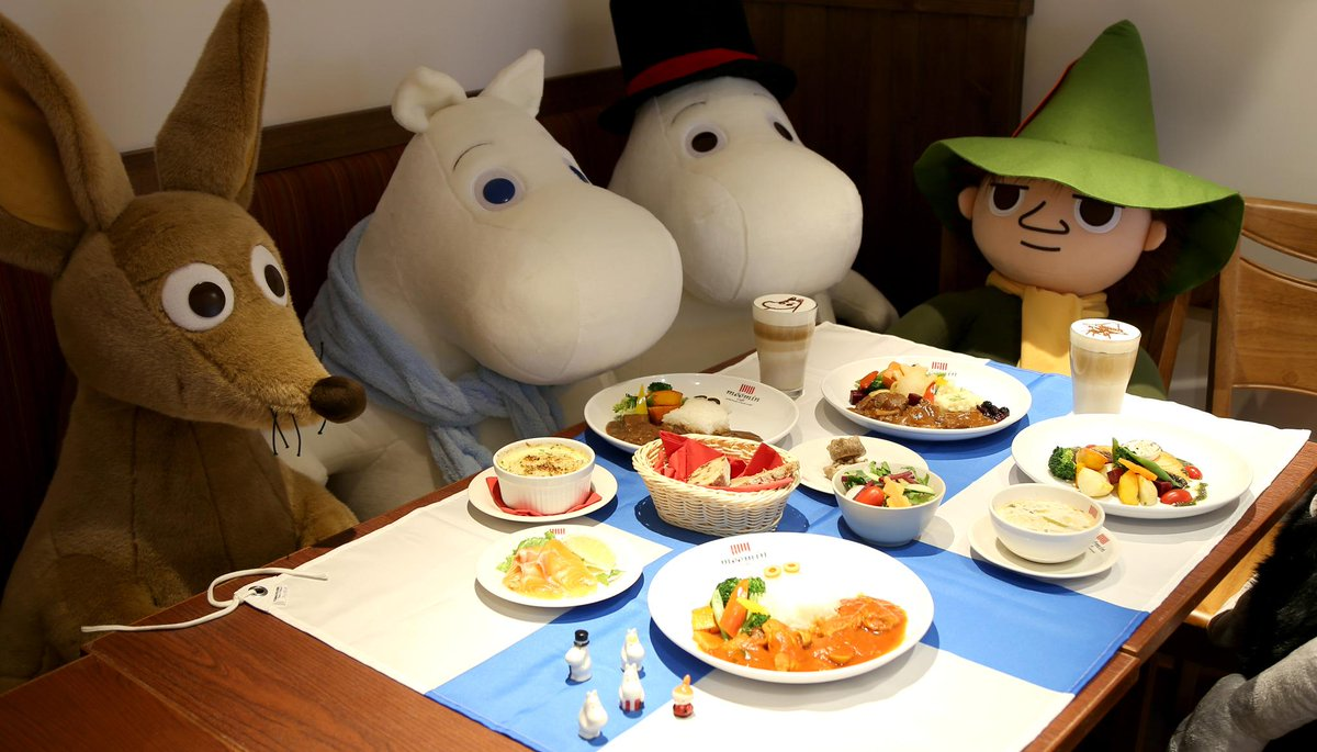 The first @MoominOfficial Café has now opened at LCX! Enjoy a #TGIF meal with #Moomin & Friends! #hcfood http://t.co/THi7bVeXsQ