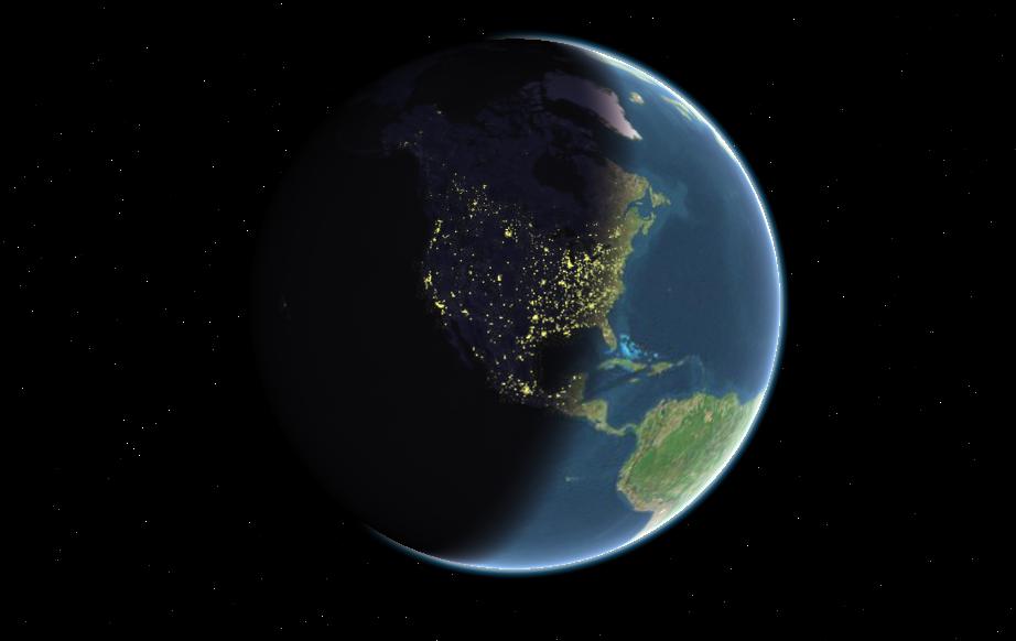 картинки земной шар день и ночь