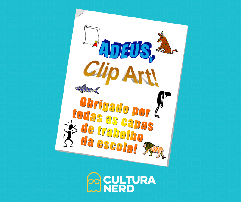 O Clip Art está oficialmente finado. Mais uma parte da infância que vai embora. Já chega, né, 2014? Já chega. http://t.co/YWAZX5mX0j