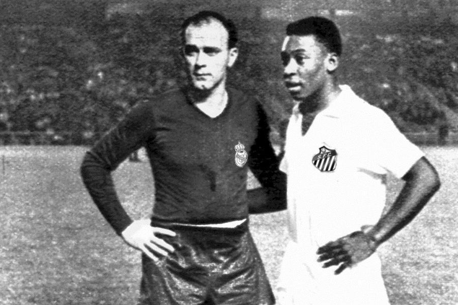 Pelé Mezcla Messi Maradona Cruyff Di Stéfano Frases Rei