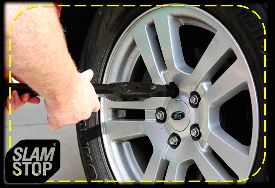 Have you checked your lugs lately? The lug nuts are used to secure a wheel on a vehicle. #SlamstopTip #CarLovers #ME http://t.co/S2tCafxSRB