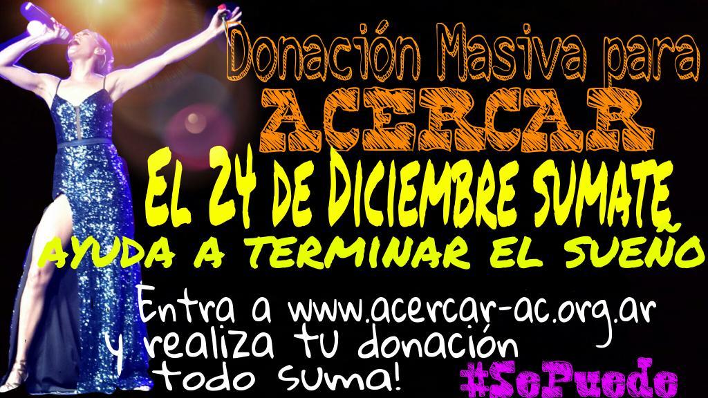 #DonacionMasiva 24 de diciembre. Ayudamos a ayudar... Con un RT se ayuda mucho!
