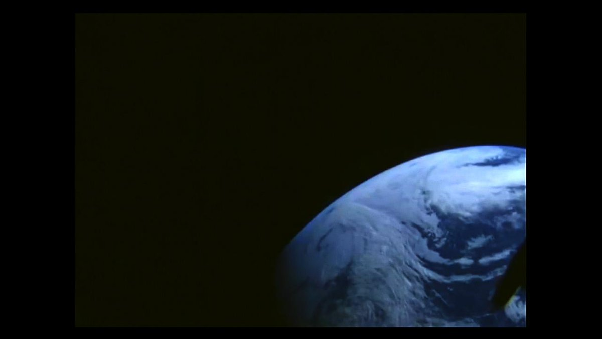 In Awe! @NASA: Earth as seen from #Orion during flight out to a peak altitude of 3,600 miles away from the planet. http://t.co/FvGNTTlhbn