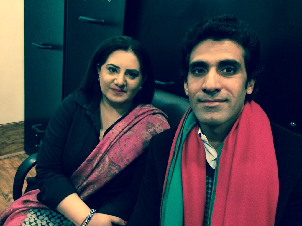 Awn Chaudry On Twitter With Jasmine Manzoor At Azadi Container Tco OE3egs2vCr