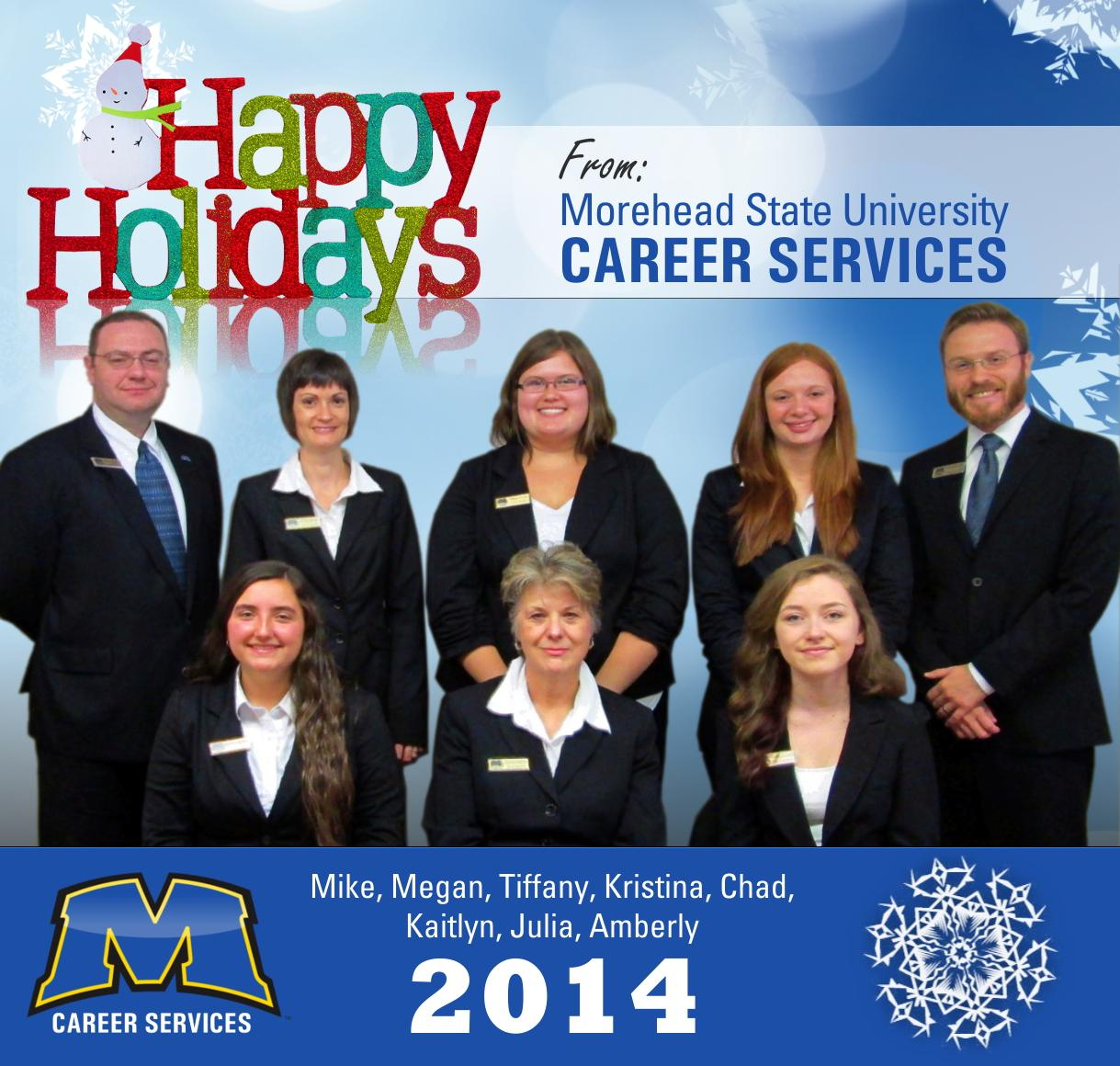Happy Holidays from Career Services