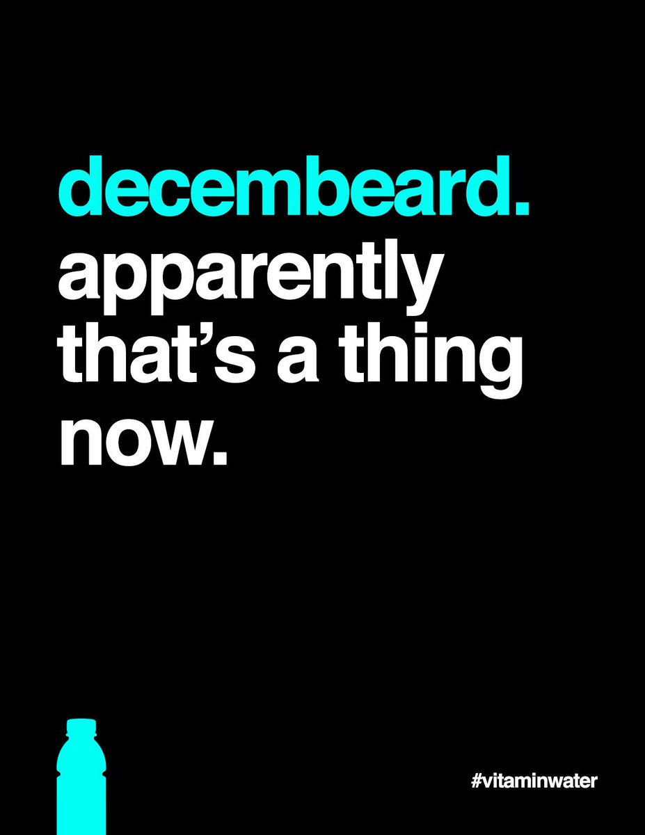 just keep it trimmed, lest you spill into januhairy. #decembeard http://t.co/nb6aATcuCd