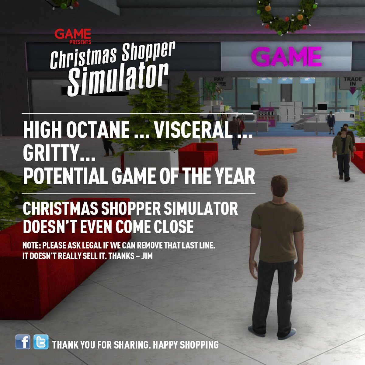 Christmas Shopping Simulator.Game Co Uk On Twitter Amazing Christmas Shopper Simulator