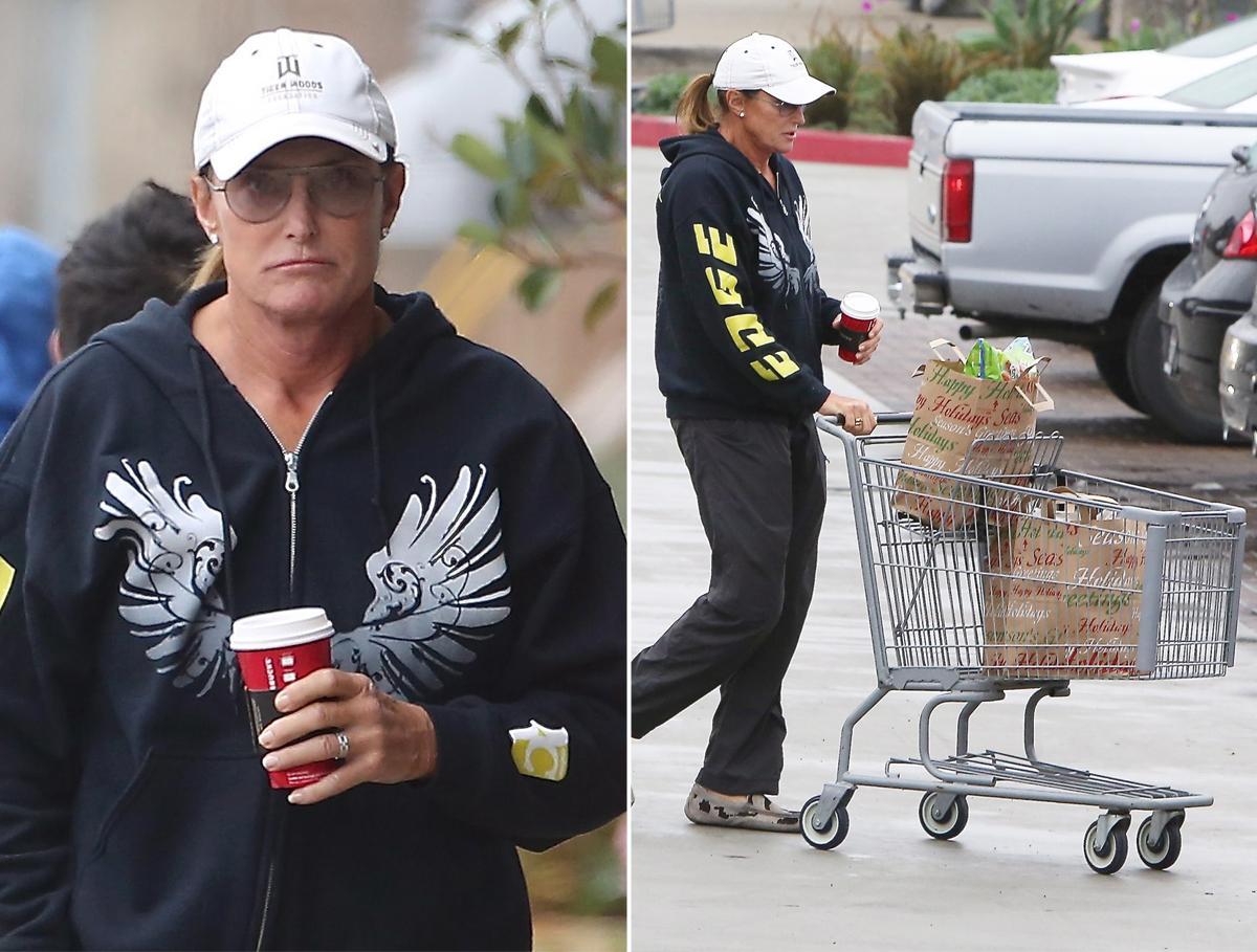 Bruce Jenner padrasto das Kardashians durante transformação
