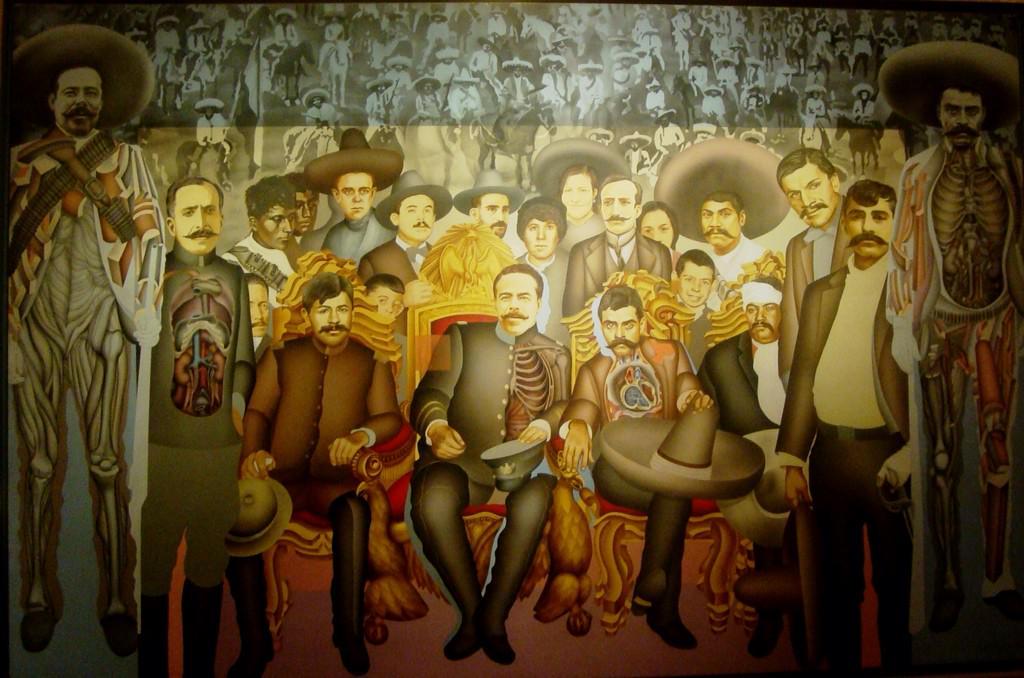 #YaMeCanse2 que retiemble en sus verdaderos centros la tierra. A cien años de que Zapata y Villa llegaron al DF. http://t.co/z0KElgGbJt