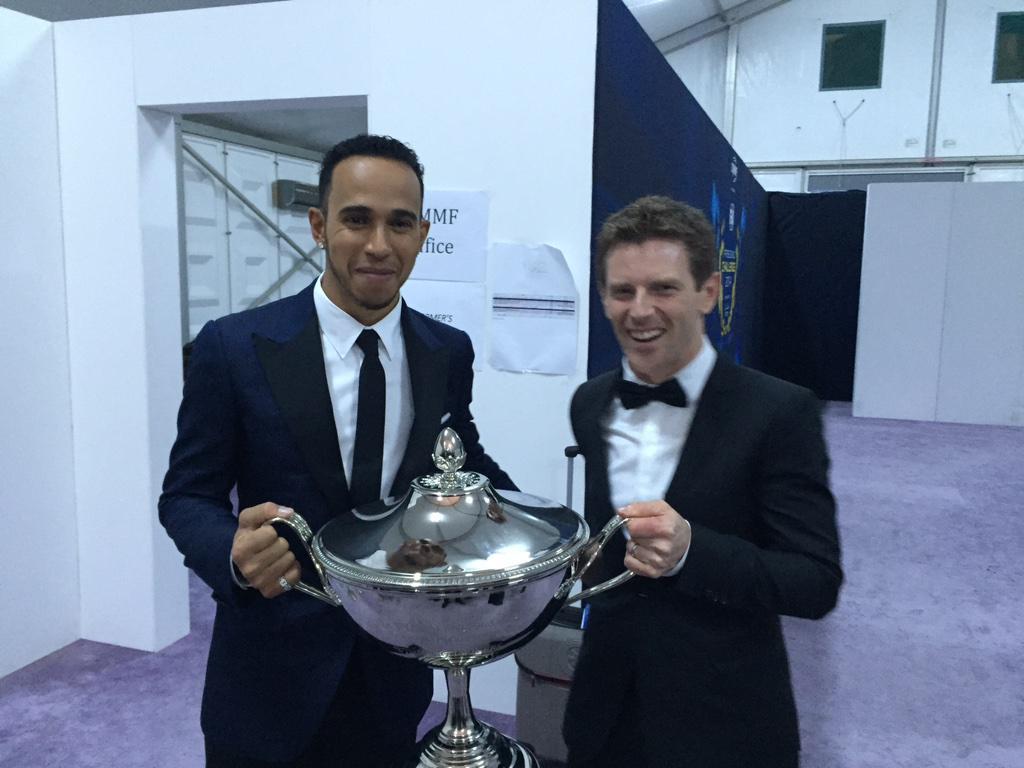 From @RyeHouseKarting to #Doha. Two British @fia World Champions! :-) #FIAPrizeGiving @LewisHamilton http://t.co/7UseuVJumZ