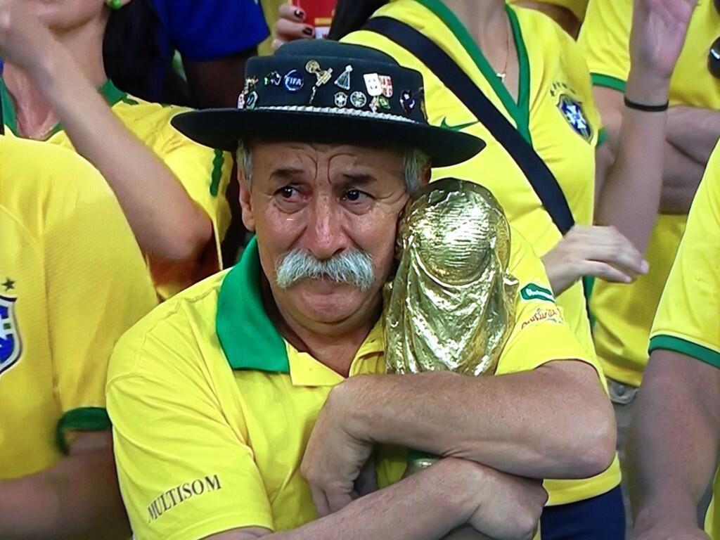 Germania-Brasile 7-1 Commenti e Foto Divertenti