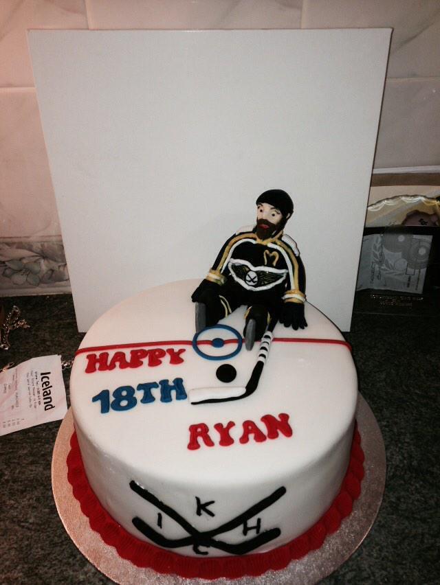 Ryan Johnstone On Twitter Fife Flyers Birthday Cake Staring