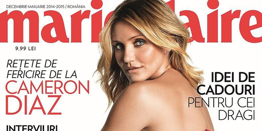 Hello, holiday. @CameronDiaz's @marieclaire cover is perfectly festive . . . and sexy. http://t.co/BouggpmjHd http://t.co/CIiIyXgBYK