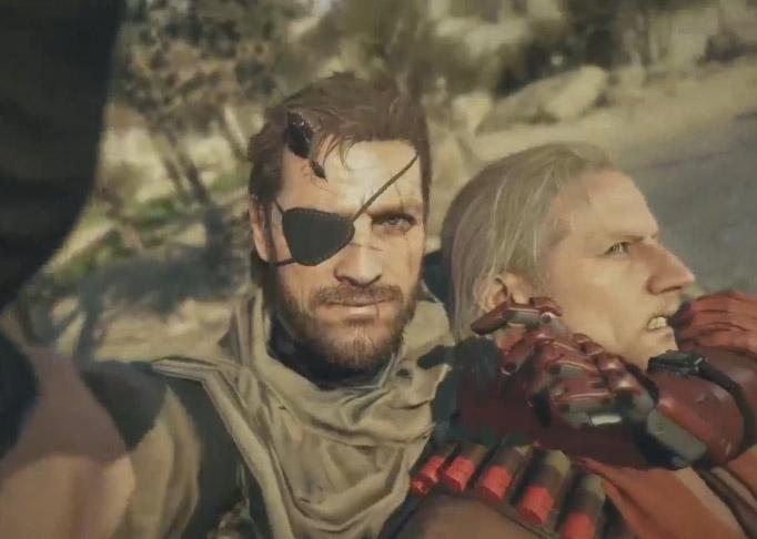 Metal Gear Selfie #TheGameAwards http://t.co/Wj1424ODsV