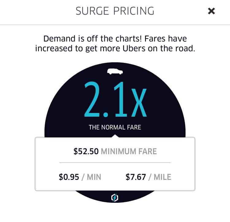 Maybe this isn't too bad for NY but $52 minimum fare is a little much @Uber_DC! http://t.co/T2irSIcd2f