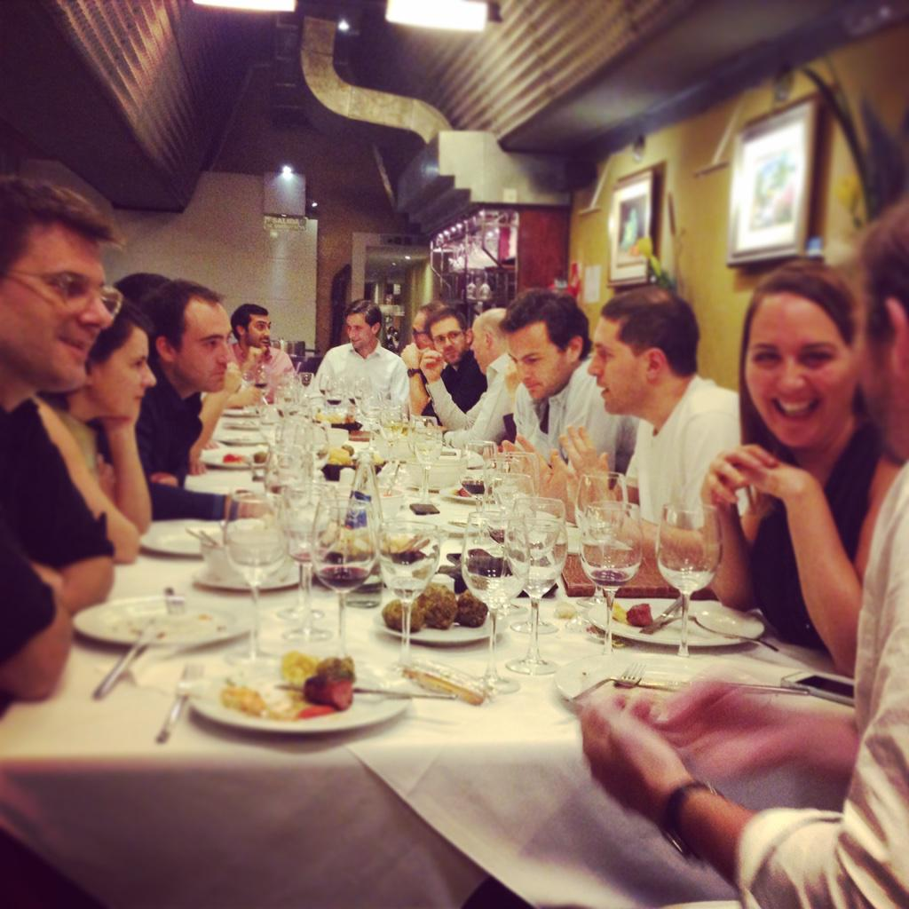 Signing off from our final last dinner! Special guests @alexandroburato @nicoberman @dvoltes #50PLatam http://t.co/wvvYk5Enwz