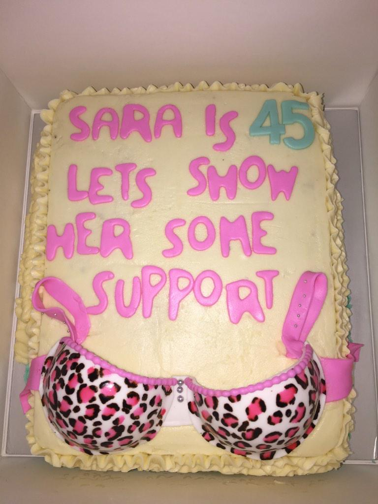 Sara Taseer On Twitter Sharing My Outrageous Birthday Cake With Y