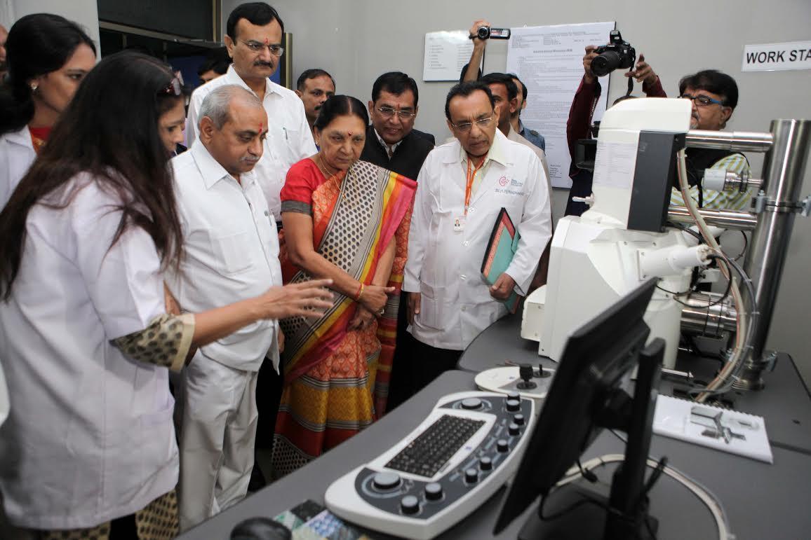 Gujarat Cm Lays Stone For Rs 170 Crore Pediatric