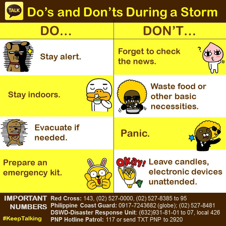 KakaoTalk PH On Twitter Basic Reminders To Help Us Get Through