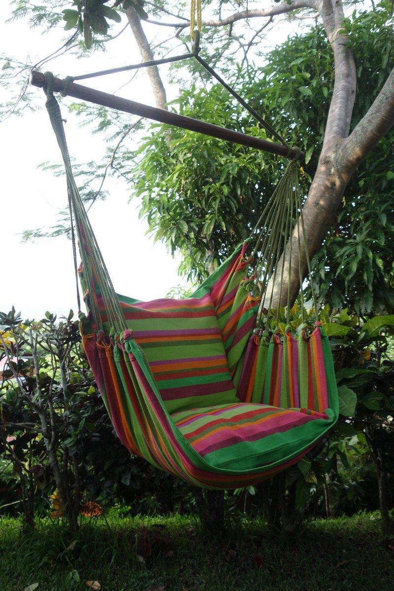 Hangmat Stoel Met Standaard.Hangmatten Winkel On Twitter Een Hangmat Stoel Kunt U In Huis