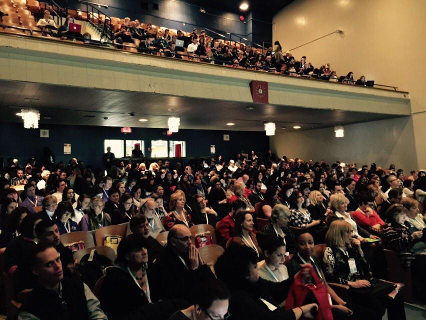 Packed house for the 2nd Annual Montreal #gafesummit Let the learning begin http://t.co/V8xLoi3ajA