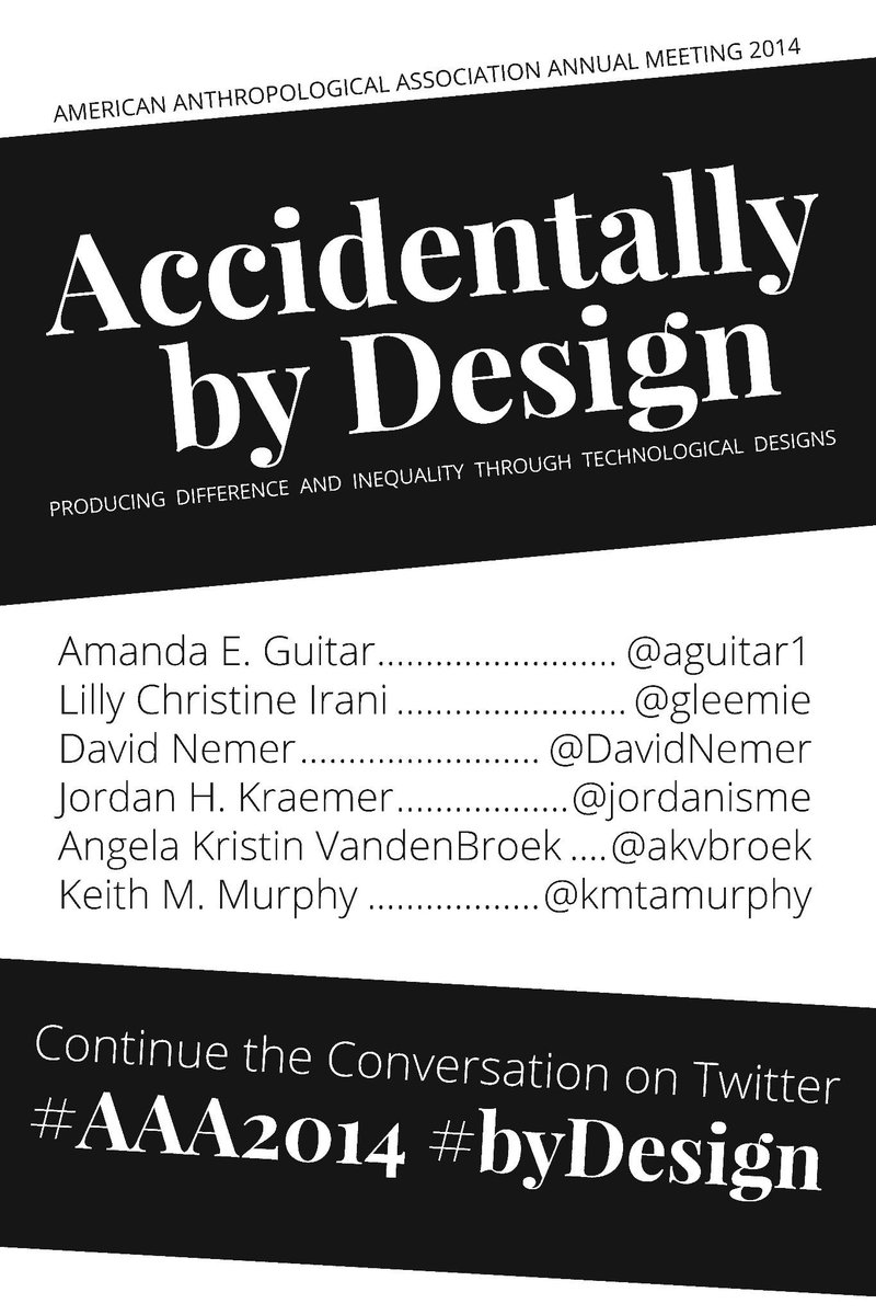 Interested in digital or design at #AAA2014? Come see our 2:30p panel: Accidentally by Design! http://t.co/S1XywnnoIz http://t.co/yWjNYvof2x