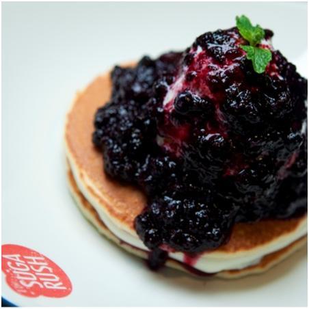 Bingung mau jajan dmn? Ke @Sugarush_bdg aja, ada Blueberry & Cream CheeTse Pancake, enaknya g usah ditanya deh! http://t.co/RElMRxfkos