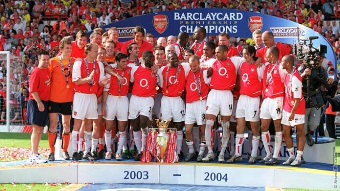 """Arsène Wenger: """"Only one team had the perfect season - Arsenal Football Club."""" #Invincibles http://t.co/nDnKewCHmp"""