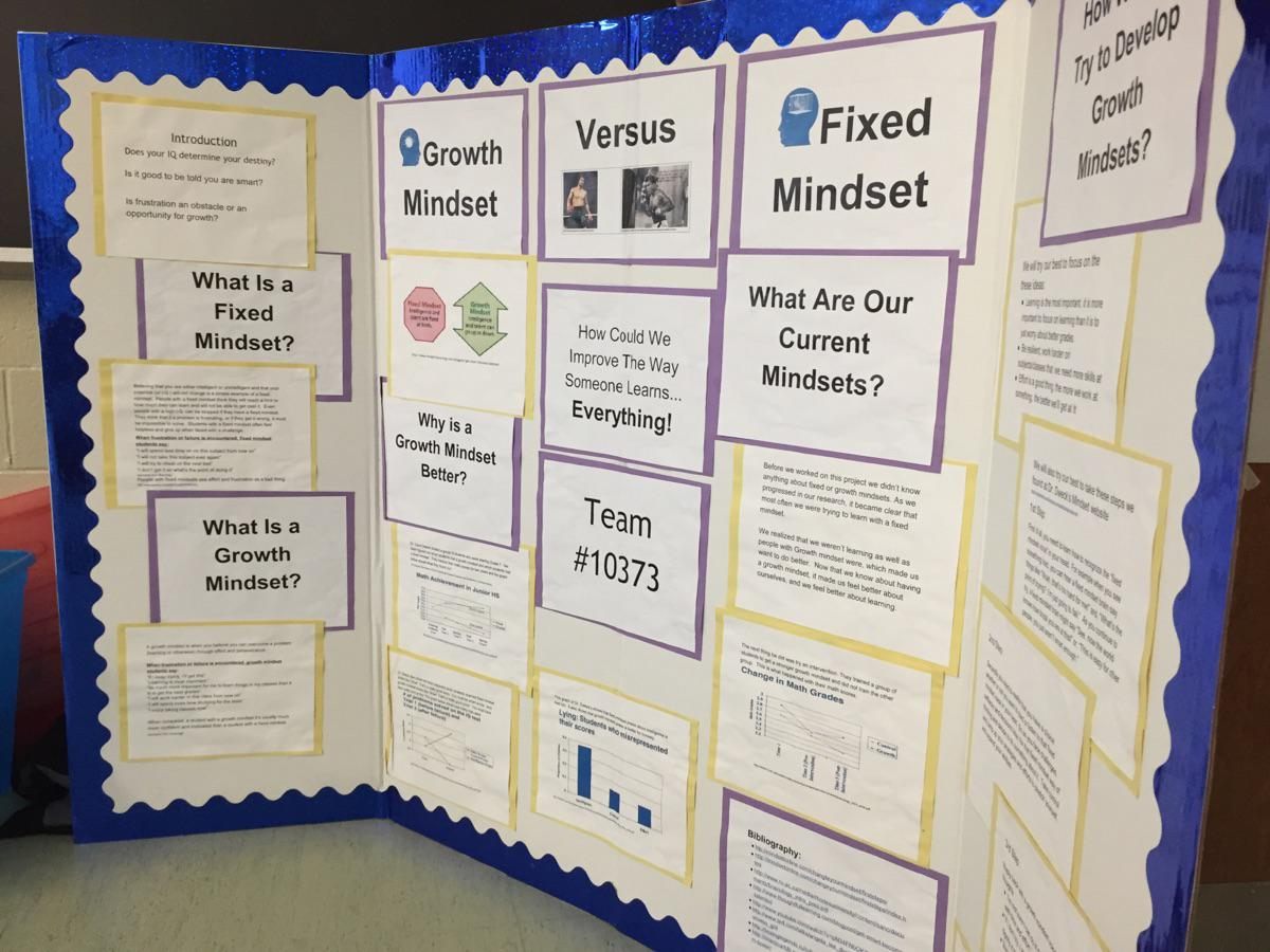 This year's FLL theme was Growth Mindset - this was part of Algonquin's robotics team's presentation. #2014IGNITEd http://t.co/VKSb1dMWXu
