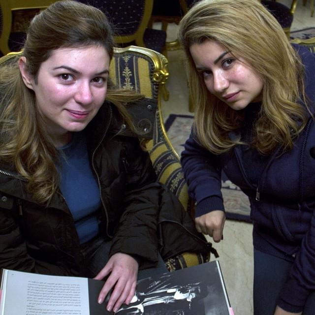 Maya and Nancy Yamout, sisters who have spent the last two years interviewing accused mi... http://t.co/iOBo2wwInU http://t.co/Ib592I01Av