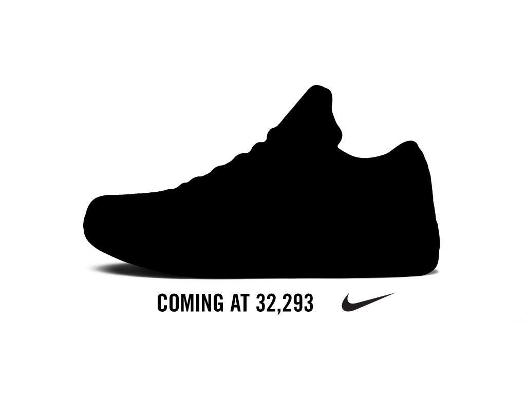 Nike lanzará unas nuevas zapatillas cuando Kobe supere a Jordan
