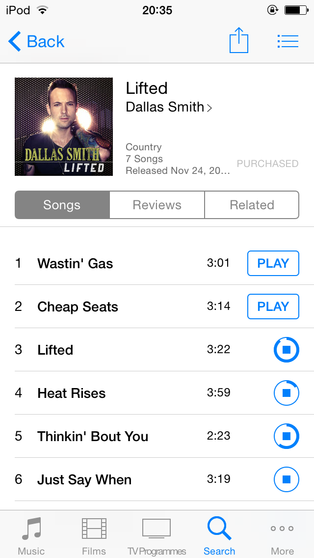 For real? @dallassmith album is available in the UK?! @JonathanSimkin @BigLoudMountain @ChiefMusicMgmt http://t.co/9IGUK4CJNs